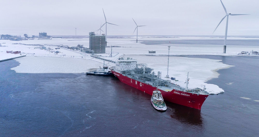 Wärtsilä built Tornio Manga LNG terminal project achieves notable milestone with successful unloading of first LNG supply