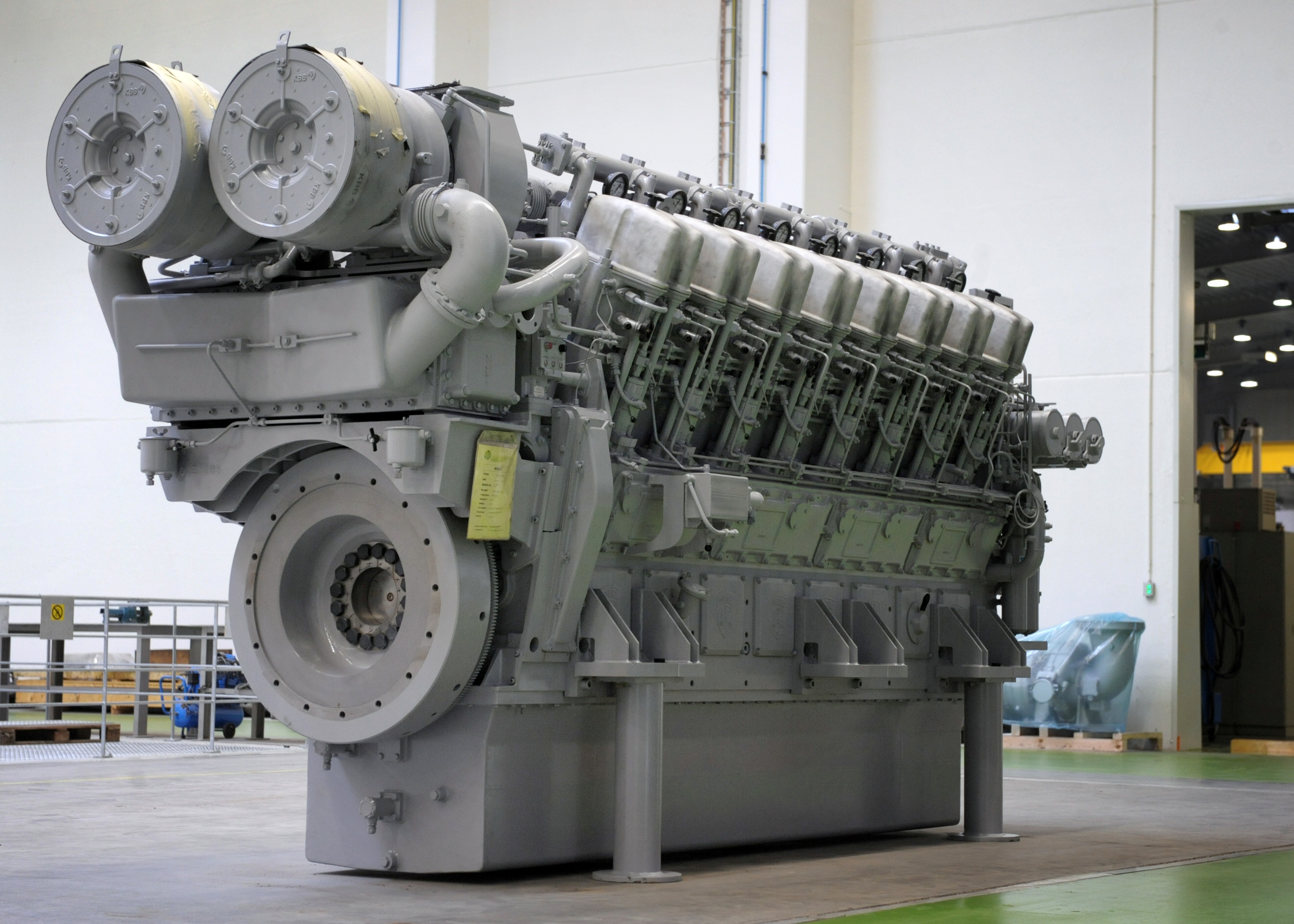 ABC introduces newly developed DL36-Diesel Engine series with 10.000 kW