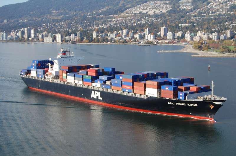 Collision of Container Vessels WAN HAI 301 and APL DENVER