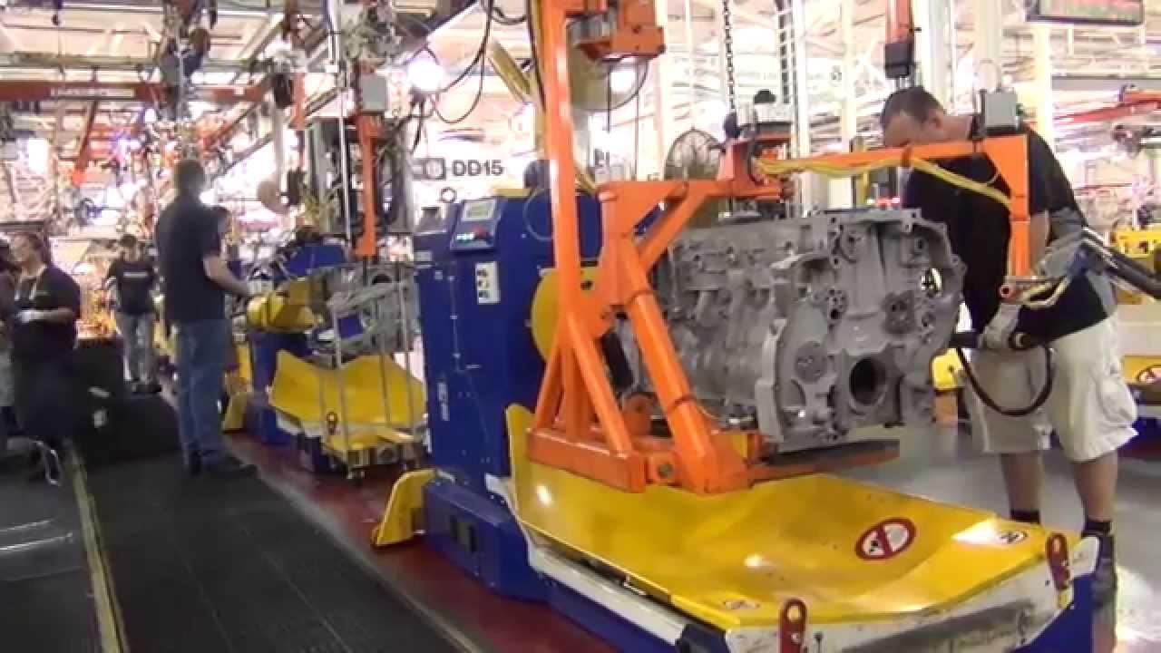 Detroit Diesel Factory Tour