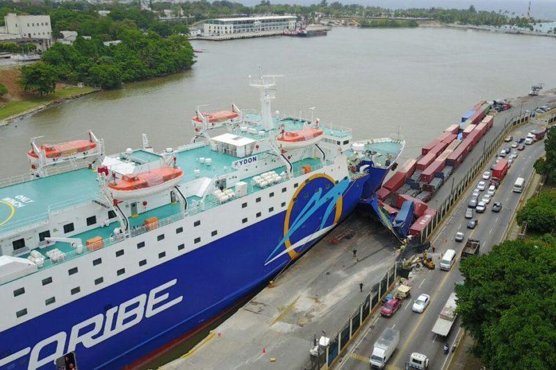 Incident Video: Ferry Slams Into Pier in Santo Domingo