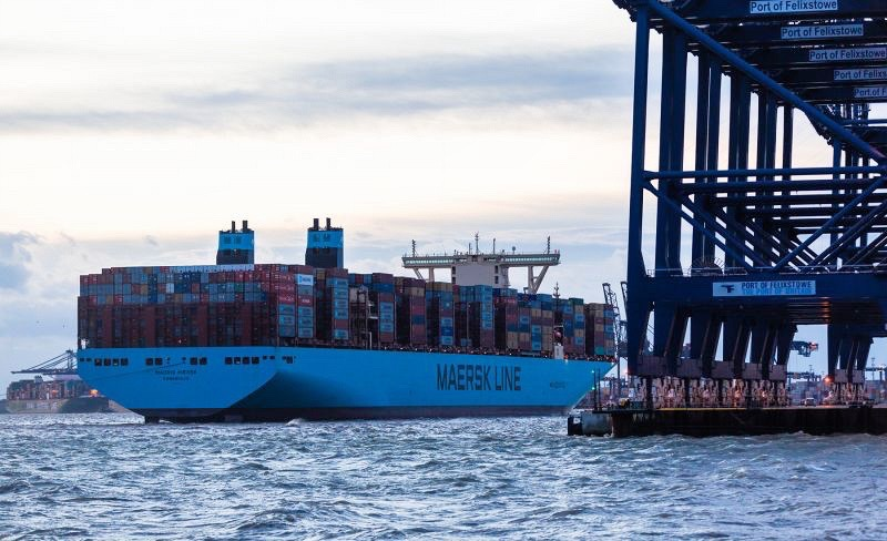 Madrid Maersk Makes European Debut