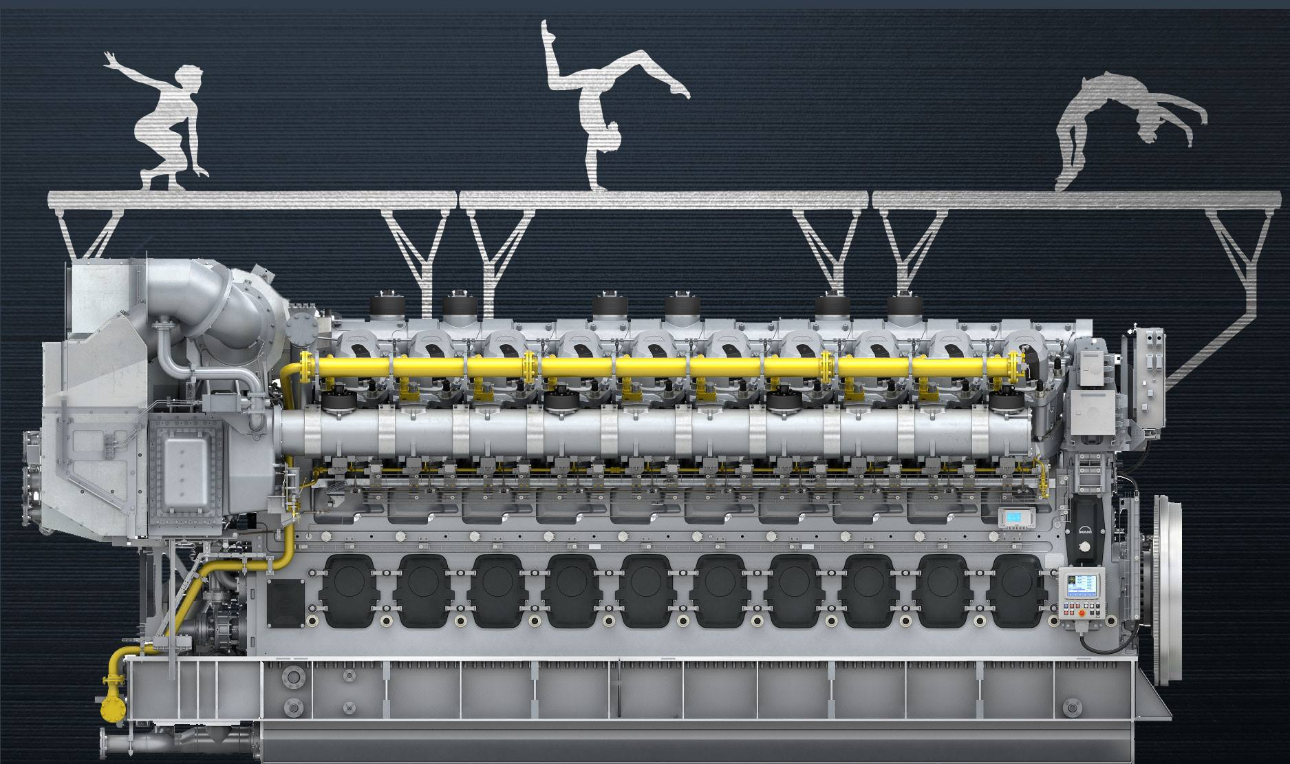 MAN builds district heating power plant for EnBW in Stuttgart