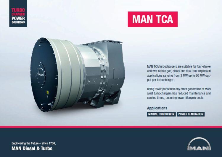 MAN B&W TURBOCHARGERS TCA SERIES - The Benchmark