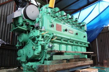 Marine and industrial Sulzer medium speed engines of AL20 and A25 series