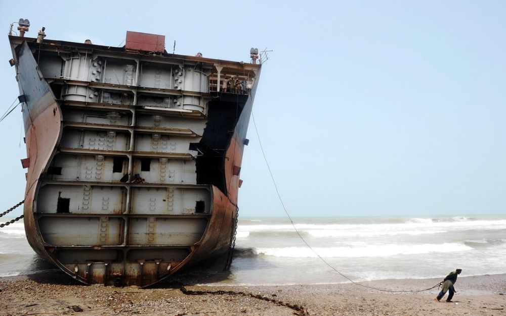 MONTHLY LIST OF THE VESSELS BEACHED AT THE INDIAN DEMOLITION YARDS
