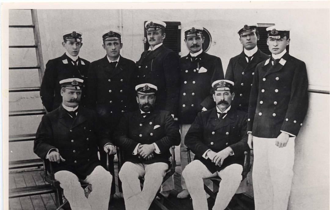 The original Crew of Titanic