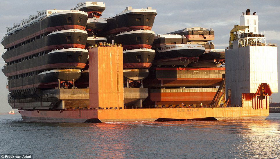 The ship of all ships: The largest cargo transport ship in the world