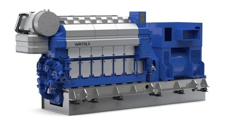 Wärtsilä 32 generating sets again the choice for Chinese container vessels