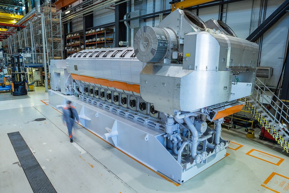 Wärtsilä Introduces Highly Efficient Gas-Fuelled Version of 31S Engine
