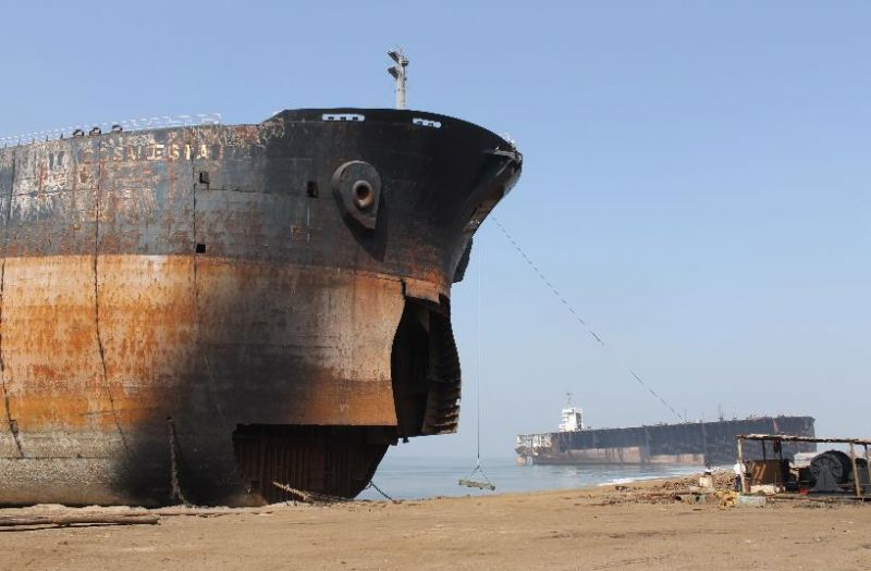 You can find below the list of the VESSELS just beached at the Indian Demolition Yards